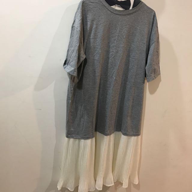 造型長版裙擺裙