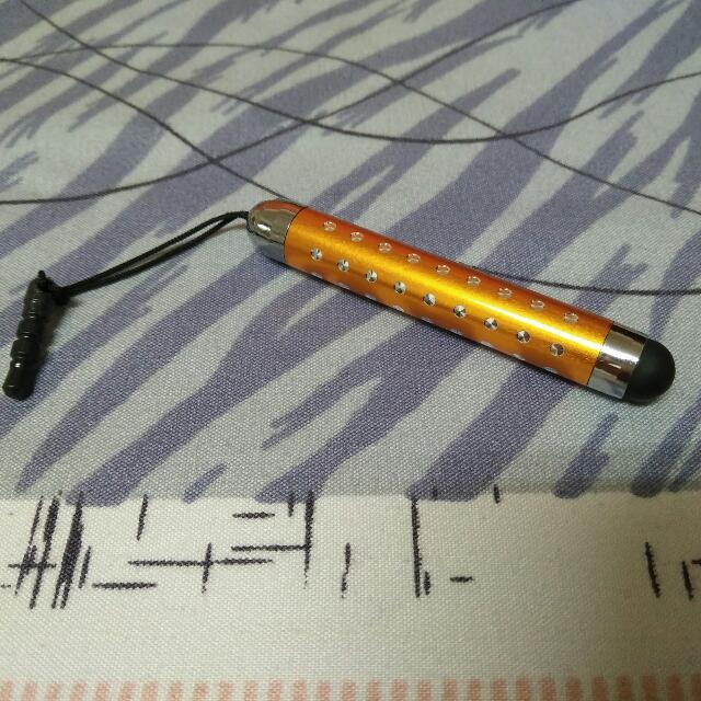 (含運)可伸縮觸控筆,小巧,攜帶方便