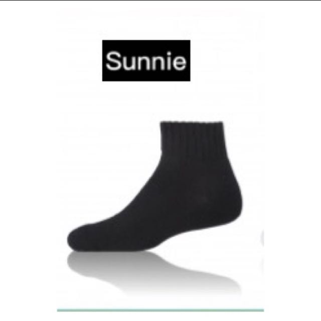 📍中長黑襪 📍男女適用