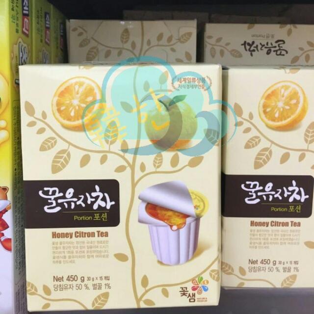 韓國 盒裝柚子茶