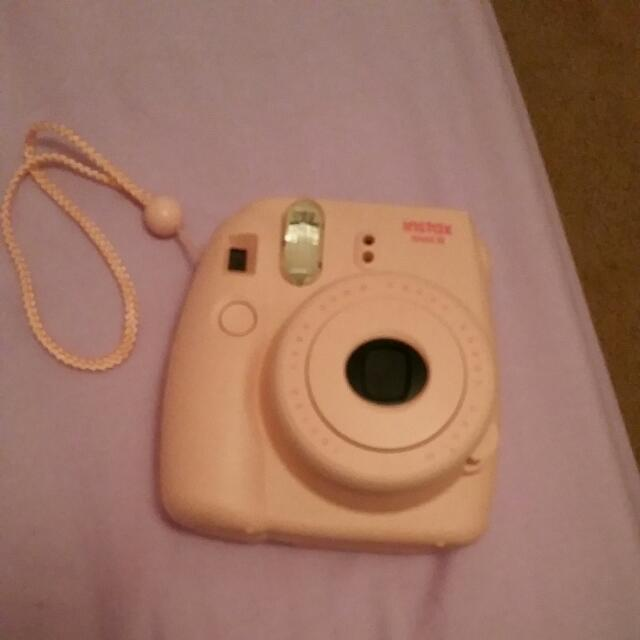 A Pink Poloroid