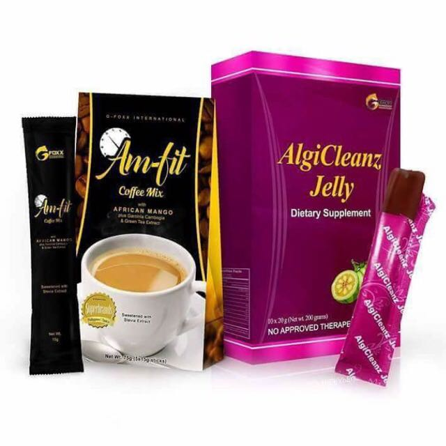 Algicleanz Jelly & Am-fit Coffee