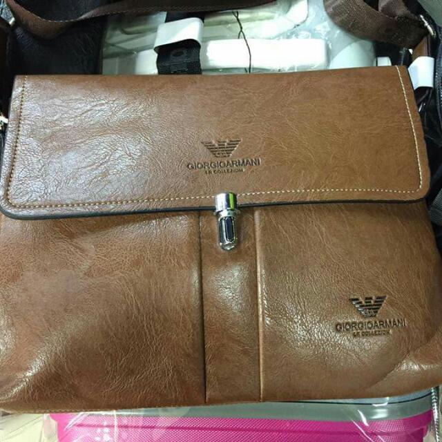 Armani Leather Bag