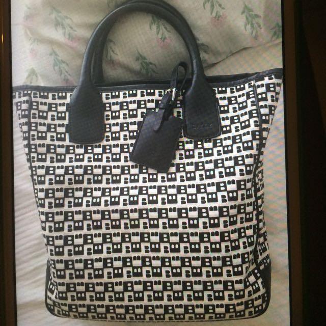 Authentic Bally Bag Not Kate MK Coach Furla Gucci LV