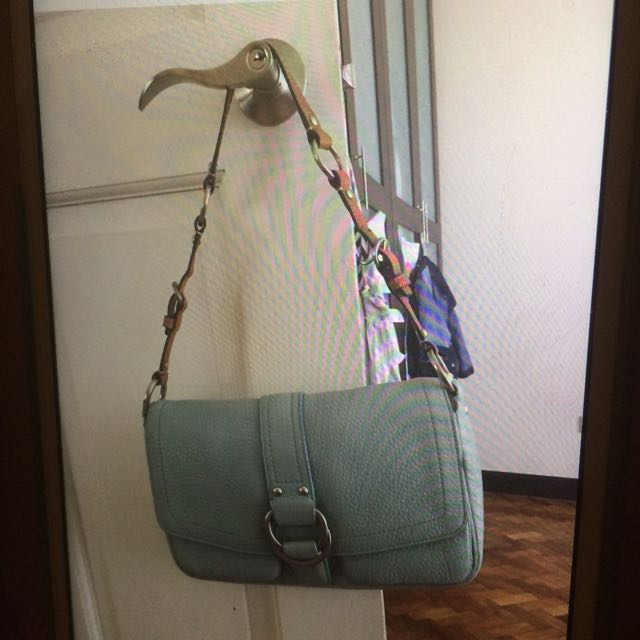Authentic Coach Leather Bag Not Tory Kate Mk