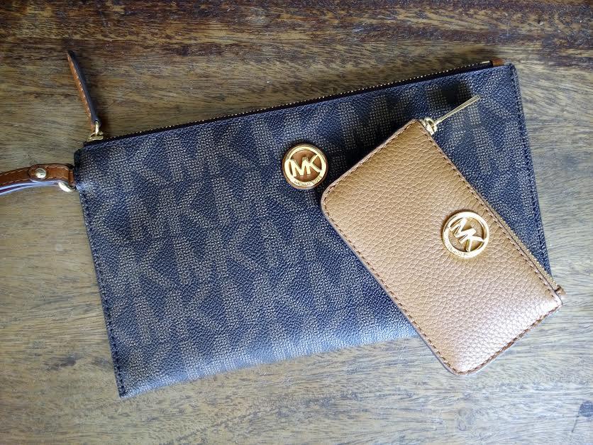 Authentic Michael Kors Clutch & Wallet