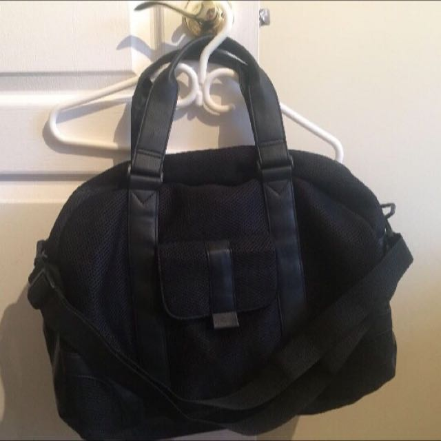 Black 2-way Duffel Bag