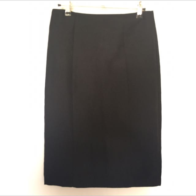 Black Professional Work Skirt