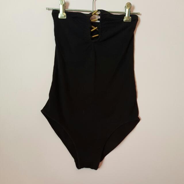 Black Tube Bodysuit