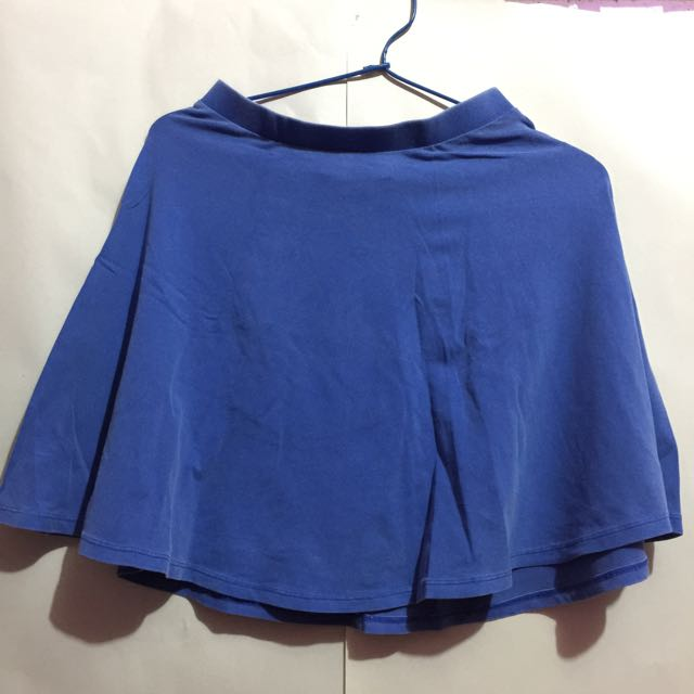 Blue Skirt By F21