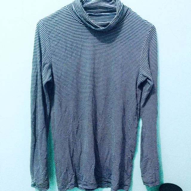 Blue Stripe Knitt