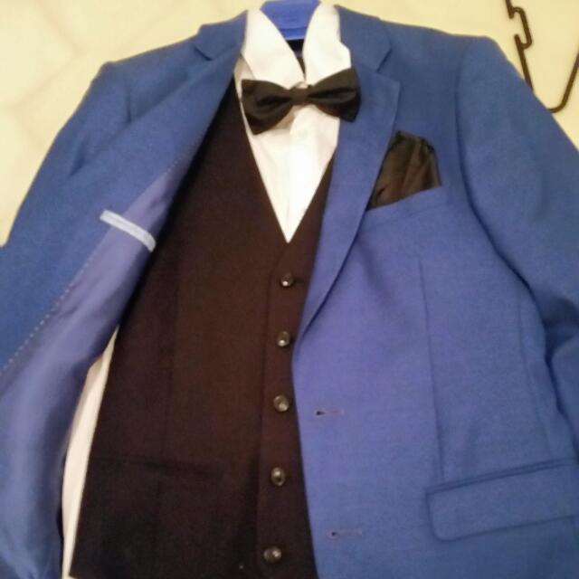 Bossini Cobalt Blue Suit