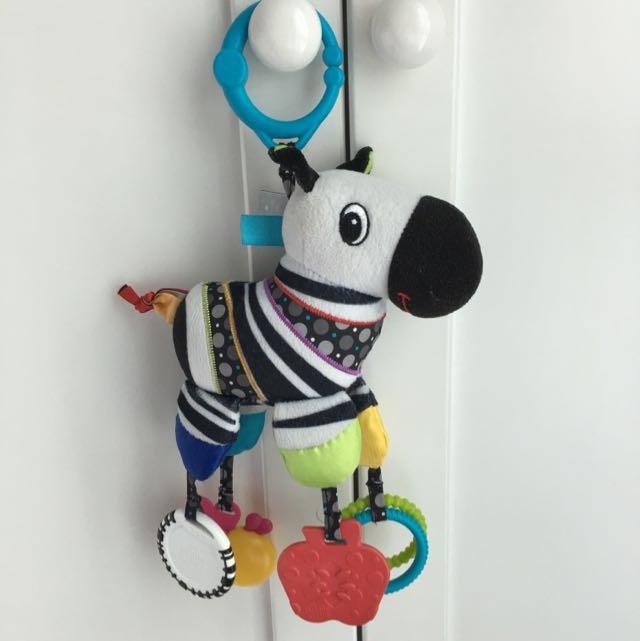 Bright Starts Plush Toy - Zebra