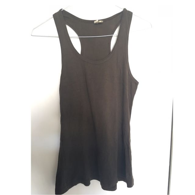 Brown Basic T Shirt