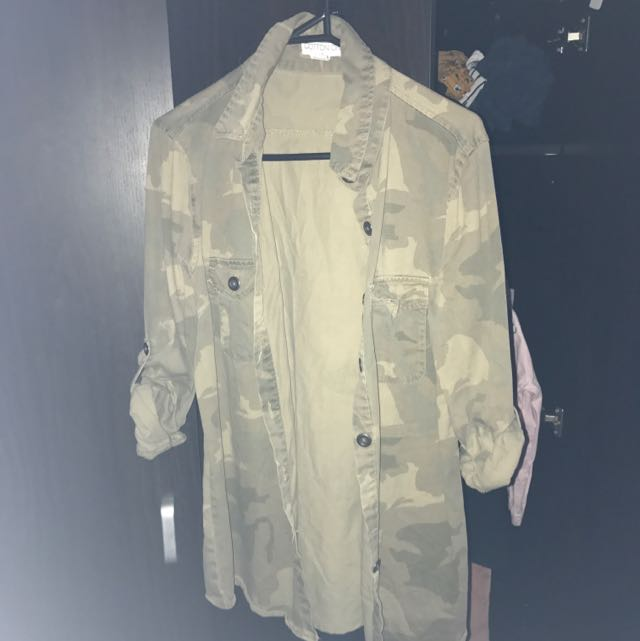 Casual Military Jacket