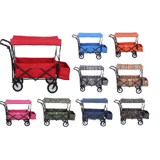 Collapsible Baby Kid Push Cart Wagon Stoller Twins