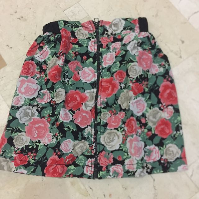 Cool Pencil Floral Skirt