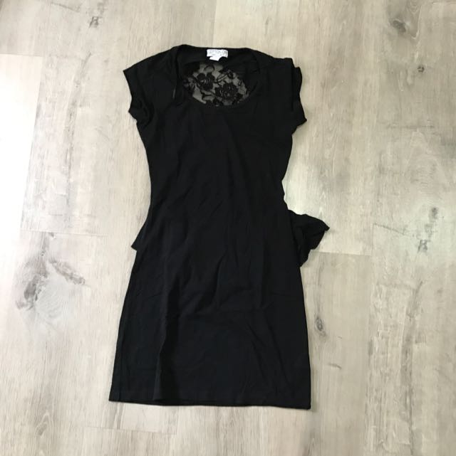 Cotton On Mini Black Dress