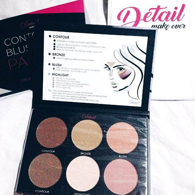 Detailed Makeover Blush and Contour Palette