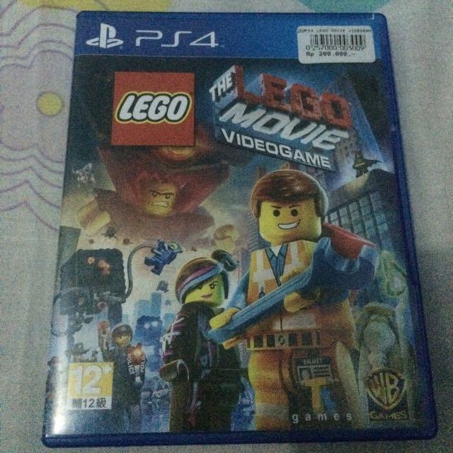 DIJUAL (LEGO MOVIE PS 4)