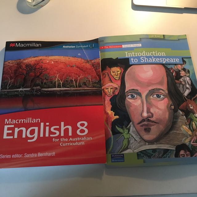 English books for australia yr 11-12