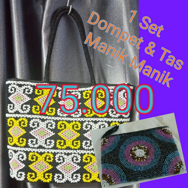 Ethnic Bag And Wallet