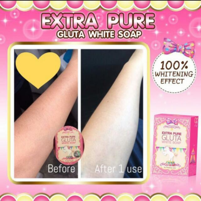 Extra Pure Gluta White Soap