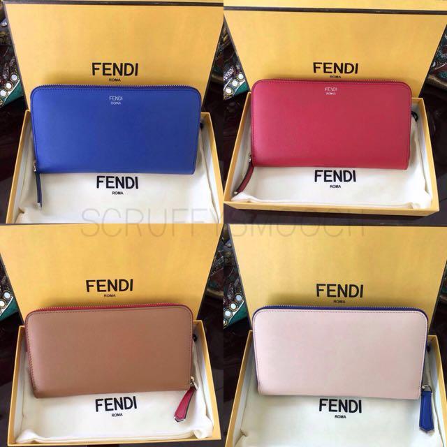 Fendi Wallet Zip
