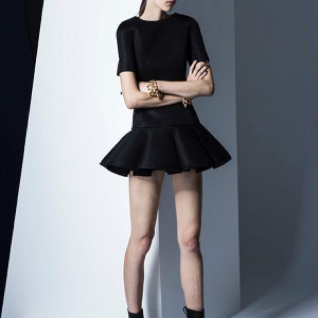 Finders Keepers Time Traveller Dress In Black