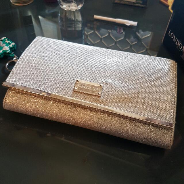 Forever New Sparkle Clutch