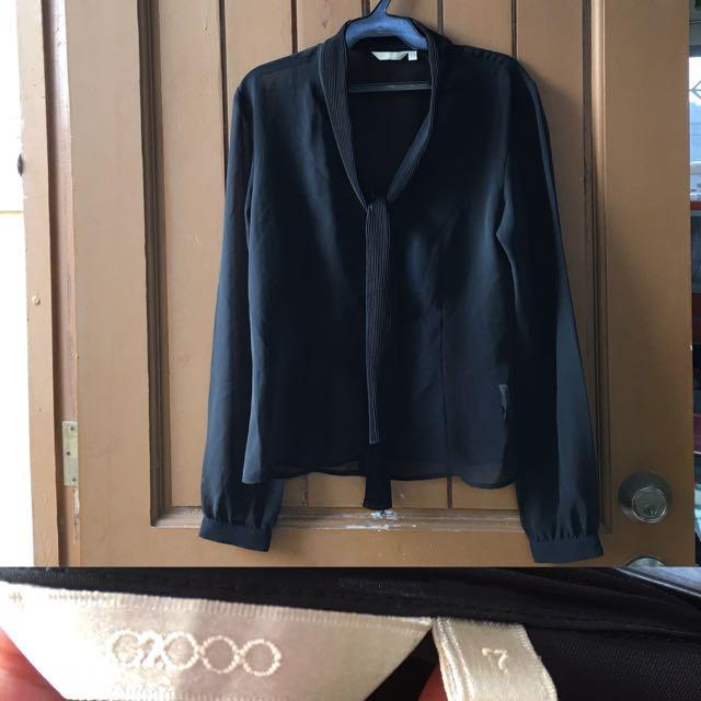 G200 Formal Blouse (mesh)
