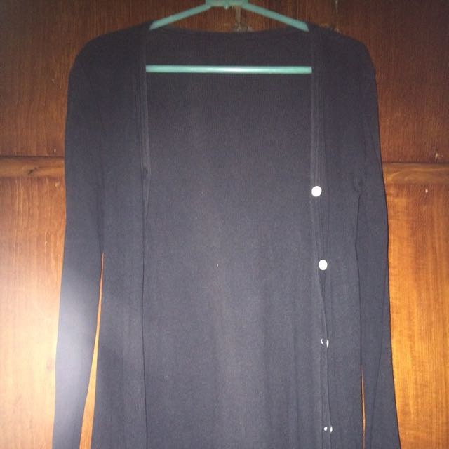 Gardigan Black Simple