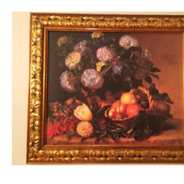 Gold Framed Oil Painting