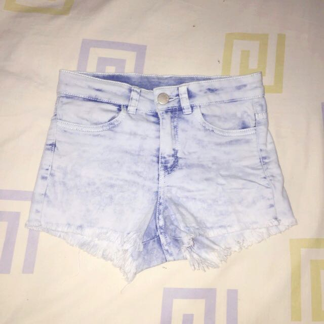 H&M High Waist Jeans Short Pants