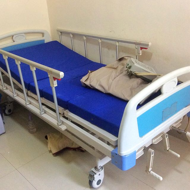 owned hospital overview rails pre electric fully mattress bed with safety
