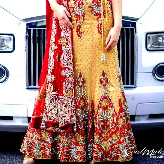 Indian Skirt And Blouse  ( LEHENGA )