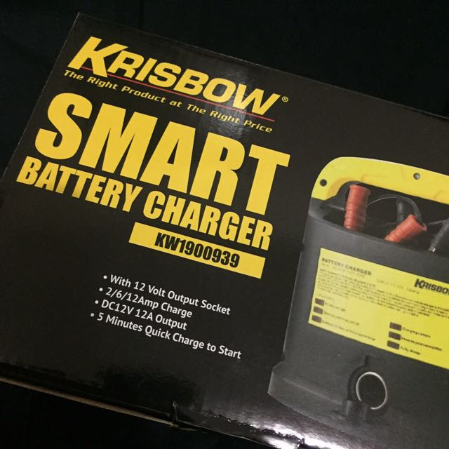 KRISBOW Smart Battery Charger KW1900939