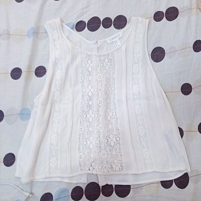 Forever 21 Lace Tank Top