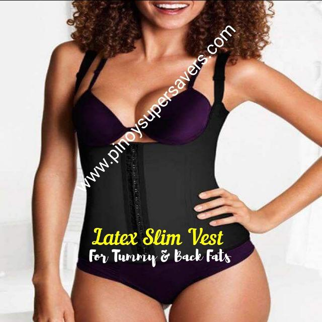 Latex Slim Vest For Back Fats