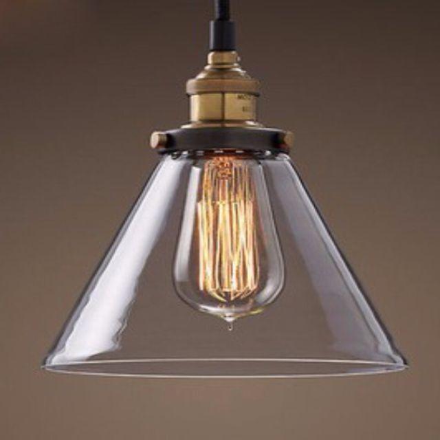 LED Glass Lamp Shade