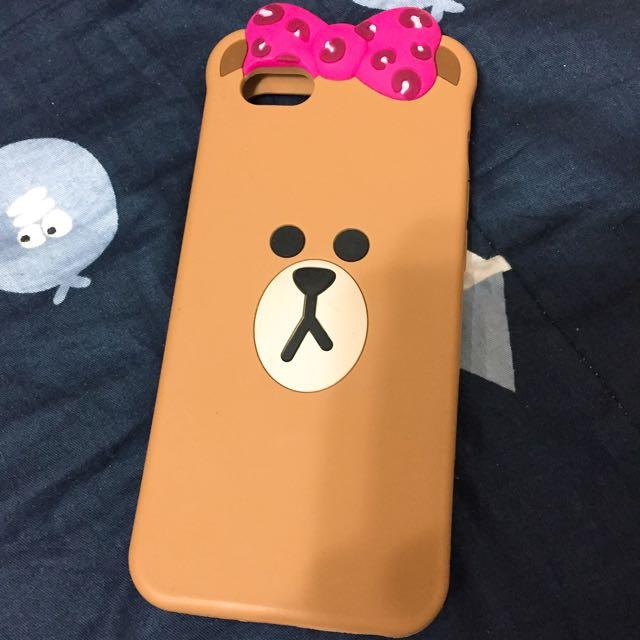 正版Line Iphone6手機殼(軟殼)