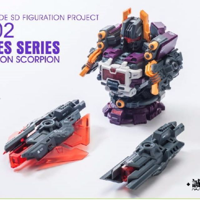 Transformers Master Made Statues St 02 Destruction Scorpion In Stock