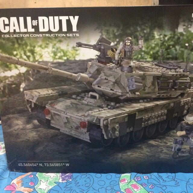 Mega Bloks Call of Duty Heavy Armor Outpost (726 pcs)
