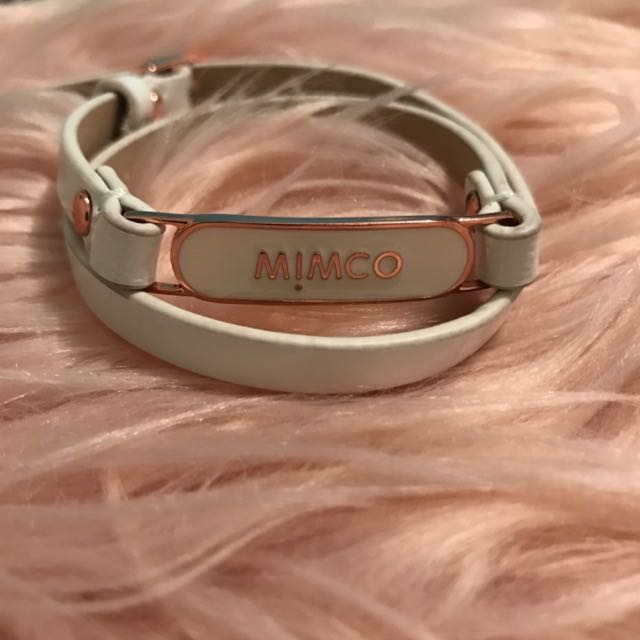 MIMCO Buckle Up Leather Braclet ~ Authentic ~