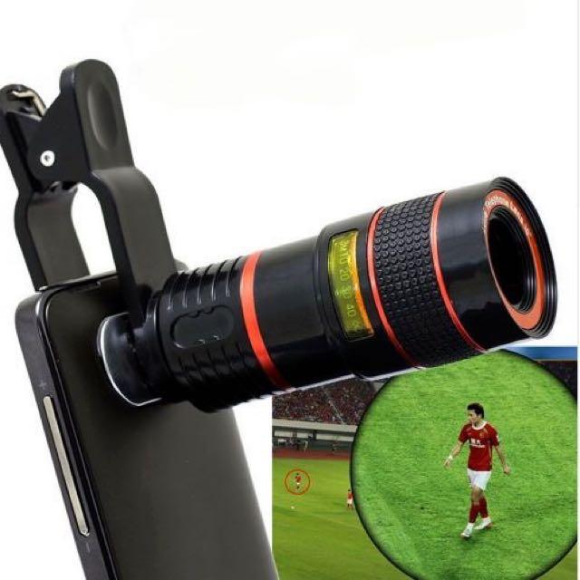 Mobile Phone Zoom Lens Telescope 8x