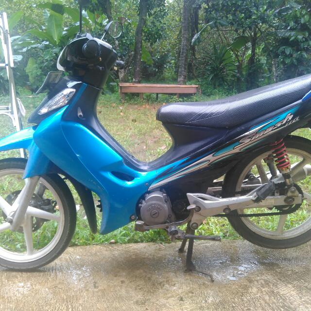 Motor Second Suzuki Smash