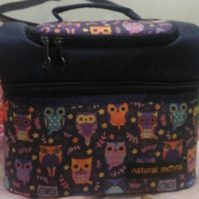 Natural Moms Cooler Bag Sling Owl