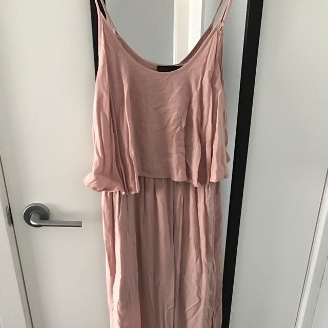 Nude Maxi Dress From Ally