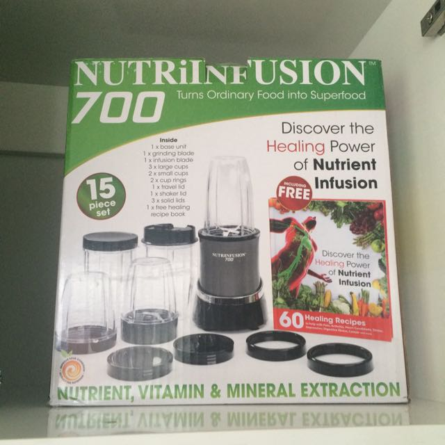 Nutrient infusion blender