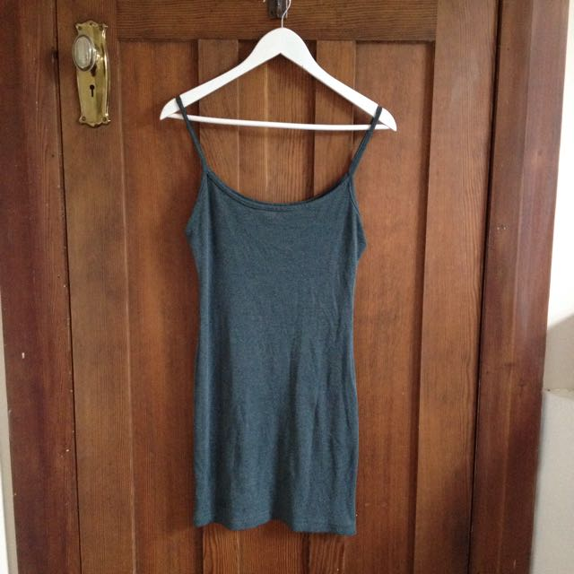 OPSHOP JERSEY SLIP DRESS